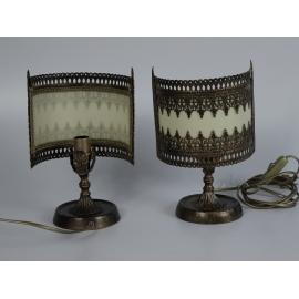 COPPIA LAMPADA 1020 METALLO